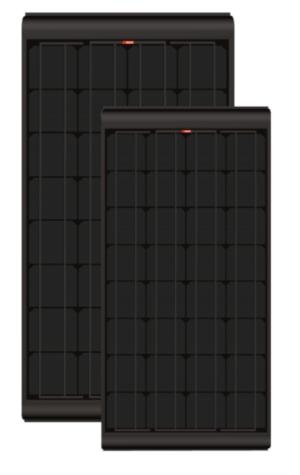 Lisäaurinkopaneeli Blacksolar 115Wp