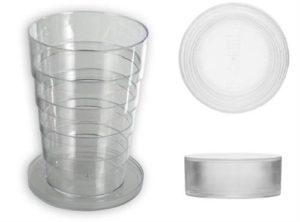 Kokoontaittuva lasi, kokoontaittuva olut lasi