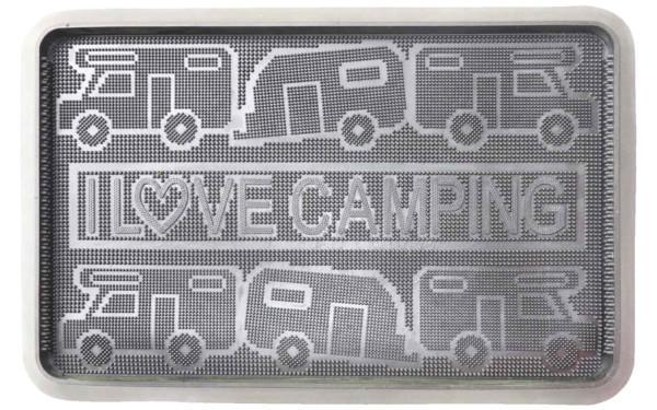 Kynnysmatto I Love Camping 60x40x3cm
